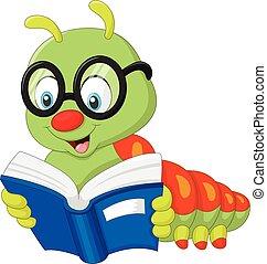 bruco, libro lettura