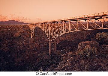 brug, bergkloof, grande, rio