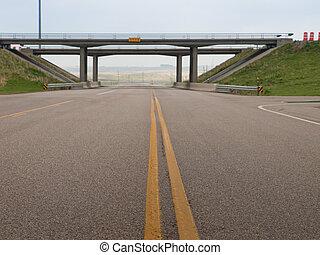 brug, snelweg