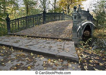 brug, vondelpark