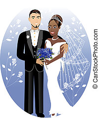 bruid, 2, bruidegom