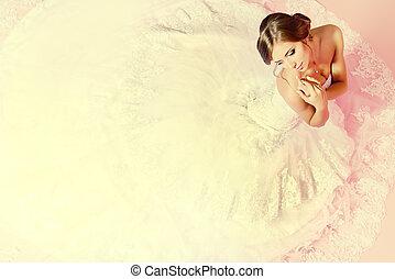 bruid, het charmeren