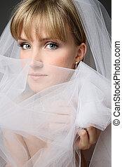 bruid, mooi