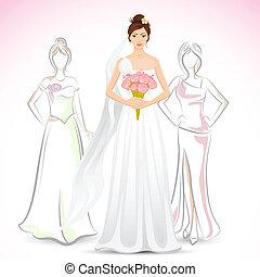 bruid, vriend