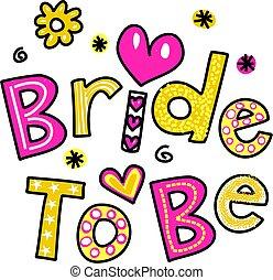 bruid, zijn