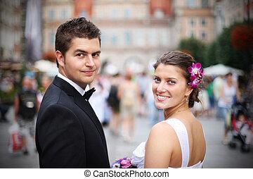 bruiloftspaar