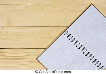 bruine , aantekenboekje