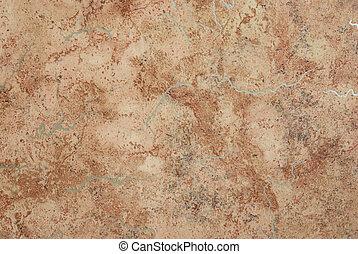 bruine , abstract, oppervlakte, achtergrond., textured, marmer