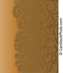 bruine , asymmetrisch, achtergrond