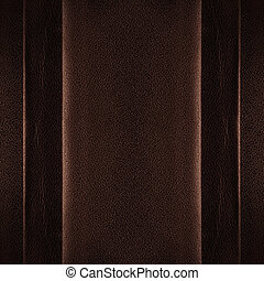 bruine , leder, achtergrond