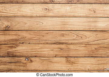 bruine , muur, groot, textuur, hout, achtergrond, plank
