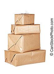 bruine , pakketten