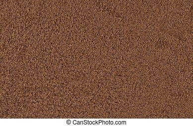 bruine , suede, textuur, achtergrond