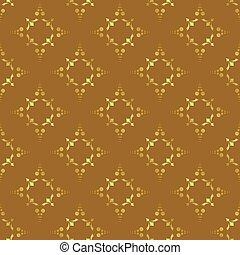 bruine , vector, seamless, textuur
