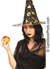 bruja, tenencia, manzana