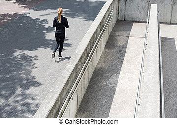 bruk, jogging