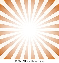 brun, étoile, toile fond., forme., vecteur, retro, fond