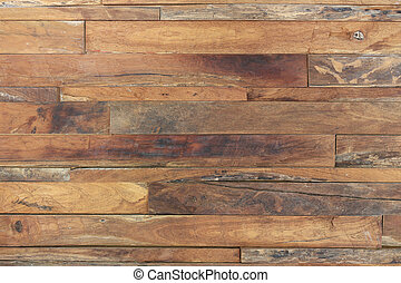 brun, a mûri, texture, bois, fond, planche, bois ...