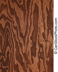 brun, abstrakt, ved, kryssfaner, struktur