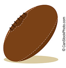 brun, balle, rugby