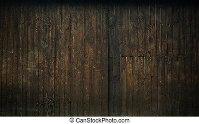 brun, bois, grunge, fond