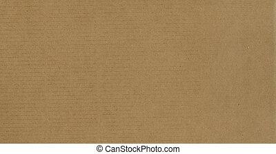 brun, carton