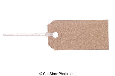 brun, etiquette don, étiquette