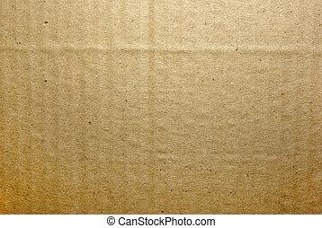 brun, inrama mycket, bakgrund., strukturerad, papp, abstrakt