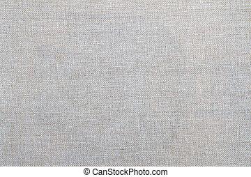 brun, kanfas, naturlig, tyg, linne, säckväv, cotton., struktur, bakgrund., textured., design.