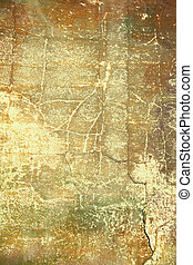 brun, konst, background:, årgång, abstrakt, gul, design, mönster, papper, /, bakgrund., strukturerad, grunge, gräns, ram, röd, struktur