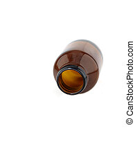 brun, medicin buteljera