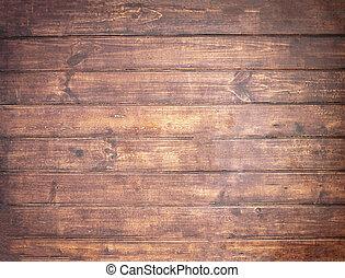 brun, mjuk, ved, yta, som, bakgrund, trä struktur, plankor