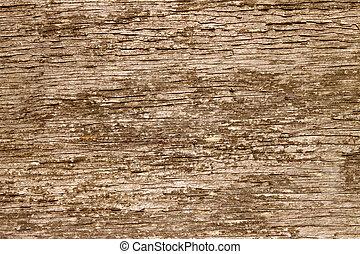 brun, naturlig, struktur, bakgrund., ved, grov