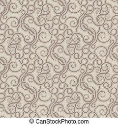 brun, papier peint, seamless, modèle