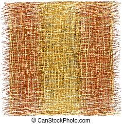brun, plaid, natte, tissé, rayé, frange, orange, rustique, tapis, blanc, grunge, moquette, beige, isolé, couleurs