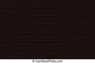 brun, texture bois, sombre, vecteur, fond, planches