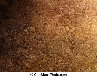 brun, travertin, texture, surface, bronzage, marbre, gradation