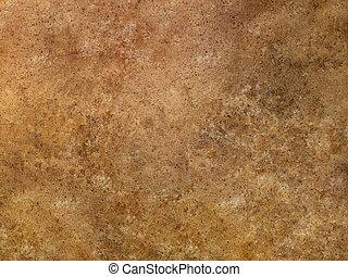 brun, travertin, texture, surface, bronzage, marbre