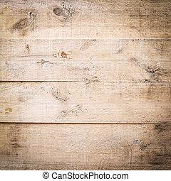 brun, ved, planka, bakgrund, struktur