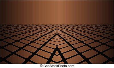 brunatne tło, trzy wymiarowy