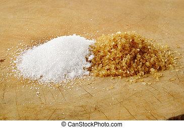 brunatny cukier