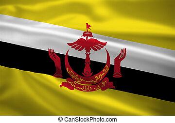 brunei旗, 吹乘風