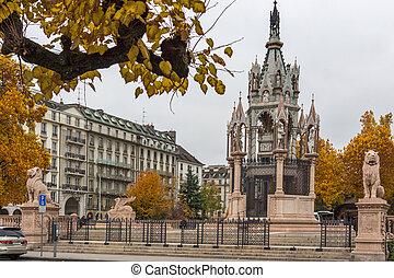 Brunswick Monument, Geneva - Brunswick Monument and ...