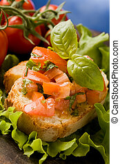 Bruschetta - Appetizer - photo of delicious bruschetta...