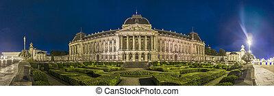 bruselas, belgium., palacio real