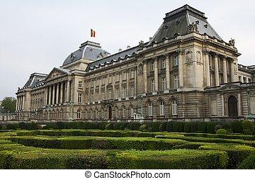 bruselas, palacio real