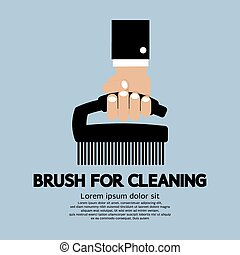 Brush For Cleaning.