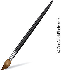 Brush for drawing