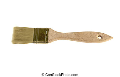 brush for paint on white background