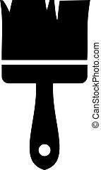 brush icon - Creative design of brush icon